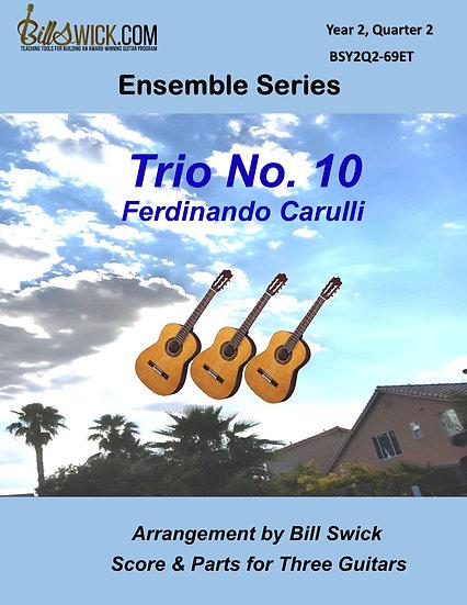 Intermediate-Trio No. 10 by Ferdinando Carulli