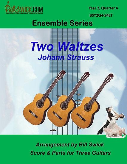 Intermediate-Two Waltzes by Johann Strauss