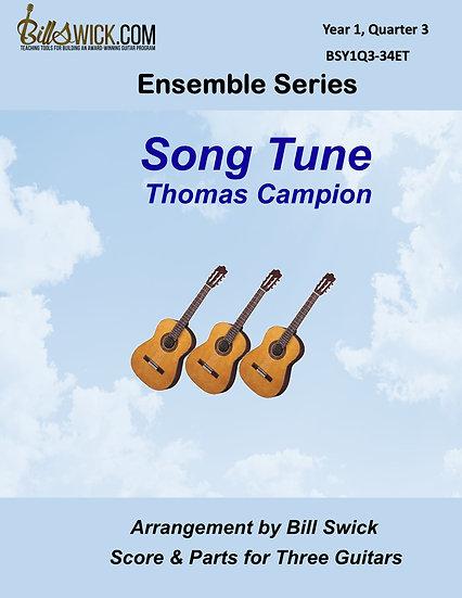 Easy-Song Tune-Thomas Campion