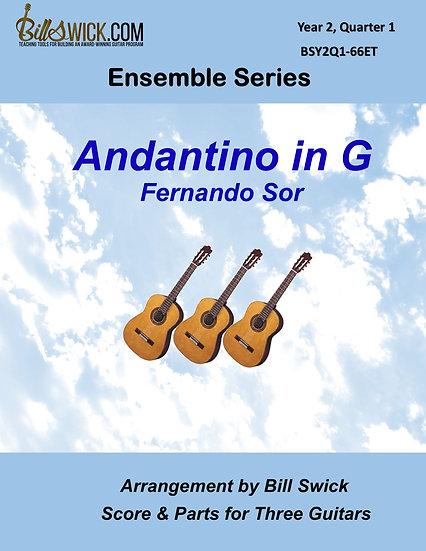 Intermediate-Andantino in G Major-Fernando Sor