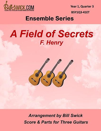 Easy-A Field of Secrets-F. Henry