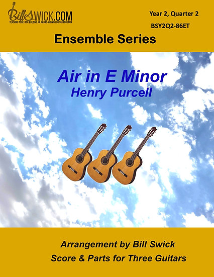 Intermediate-Air in E Minor-Henry Purcell