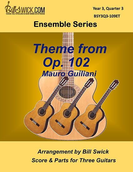 Advanced-Theme From Op 102-Giuliani