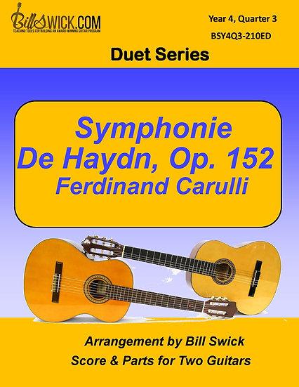 Symphonie de Haydn, Op. 152-Ferdinand Carulli