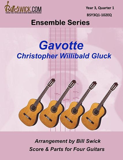 Advanced-Gavott-Christoph Willibald Gluck