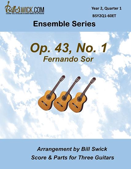 Intermediate-Op 43, No 1-Fernando Sor