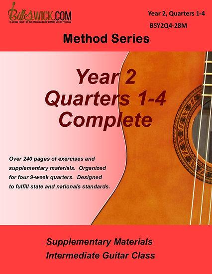 Method-Year 2, Quarters 1,2,3,&4