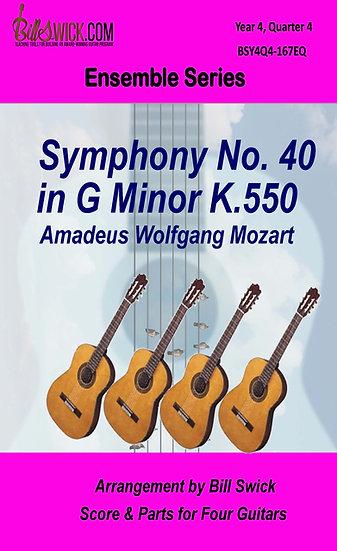 Symphony No. 40 in G Minor K.550-Mozart