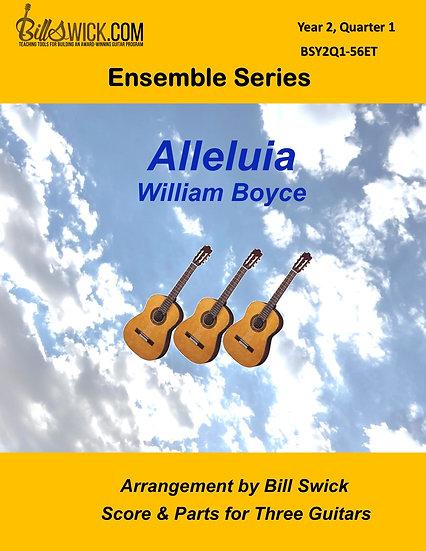 Intermediate-Alleluia by William Boyce