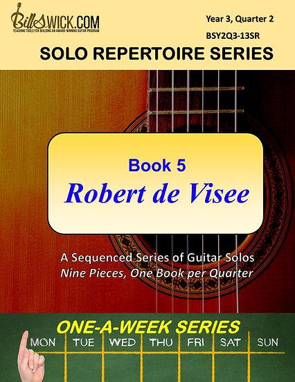 Solo Playing-Book Five-Robert de Visee