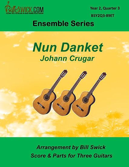 Intermediate-Nun Danket-Johann Cruger