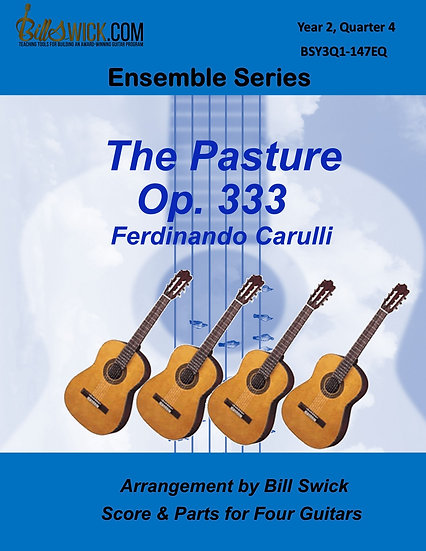 Advanced-The Pasture Op 333-Ferdinando Carulli