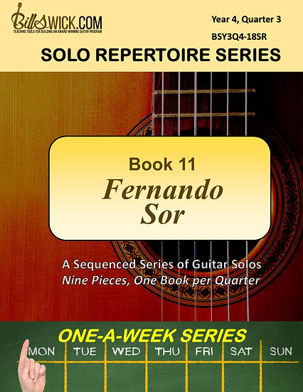 Solo Playing-Book Eleven-Fernando Sor