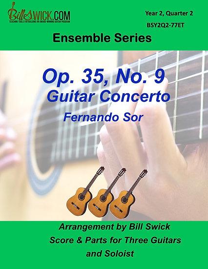 Intermediate-Op 35, No 9 Guitar Concerto by Fernando Sor