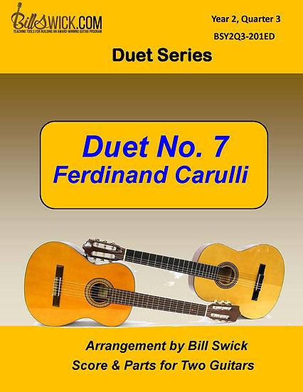 Duet No. 7-Ferdinand Carulli