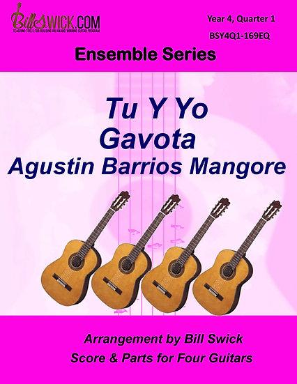Tu y Yo-Gavota-Agustin Barrios Mangore