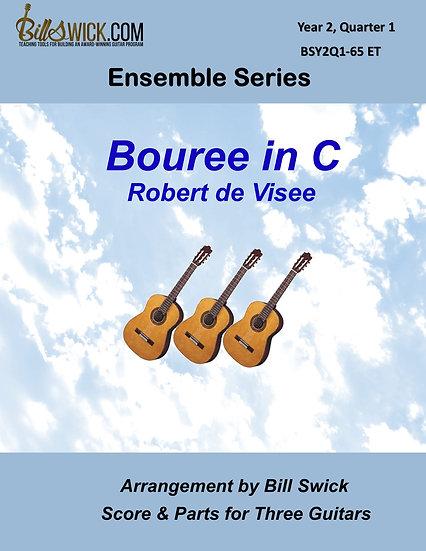 Intermediate-Bouree in C byRobert de Visee