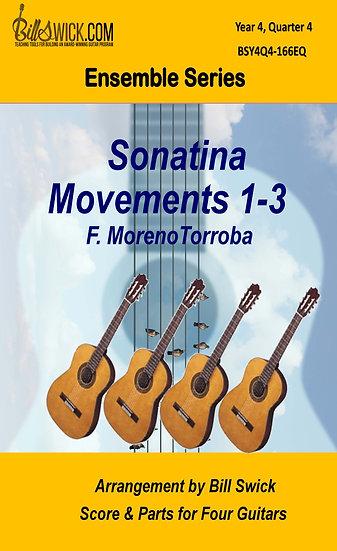 Sonatina I. Allegretto, II Andante, III Allegro- F. MorenoTorroba
