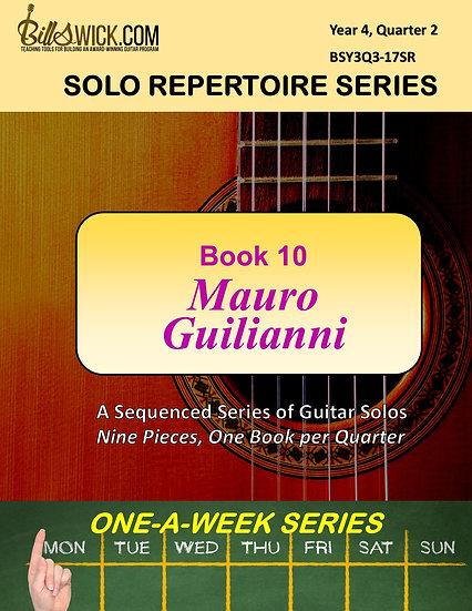 Solo Playing-Book Ten-Mauro Guilianni