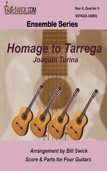 Homage to Tarrega-Joaquin Turina