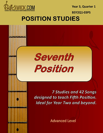 Single-Note-Seventh Position for Advanced Students