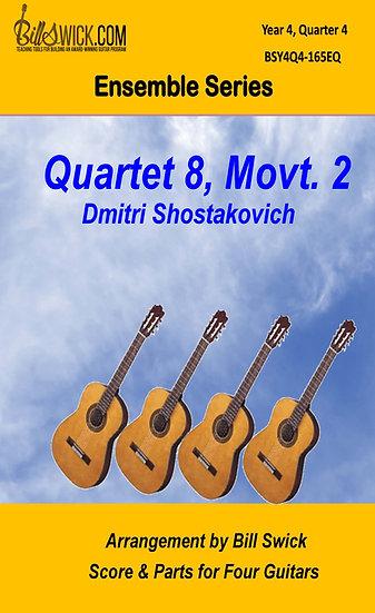 Quartet No. 8, Movt. 2-Shostakovish