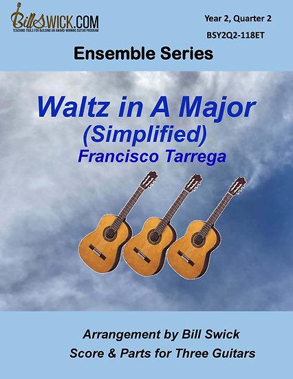 Waltz in A Major (Simplified)