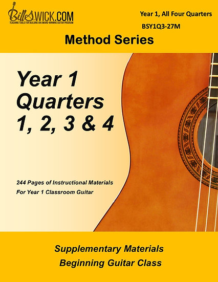 Method-Year 1-All Four Quarters