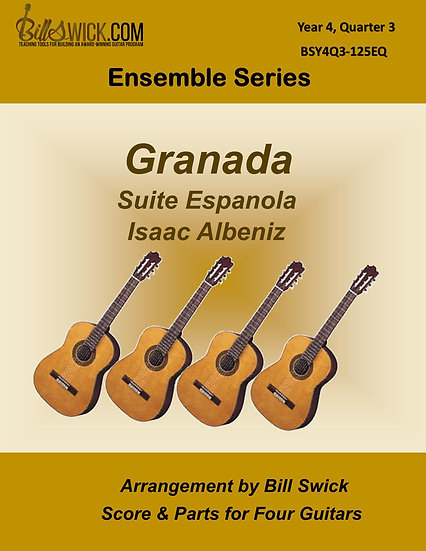 "Advanced-Granada ""Suite Espanola"" by Isaac Albeniz"