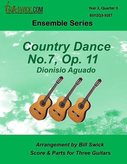 Intermediate-Country Dance No 7 Op 11-Dionisio Aguado
