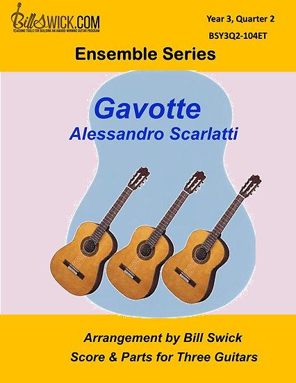Advanced-Gavotte-Alessandro Scarlatti