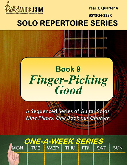 Solo Playing-Book Nine-Finger-Picking Good