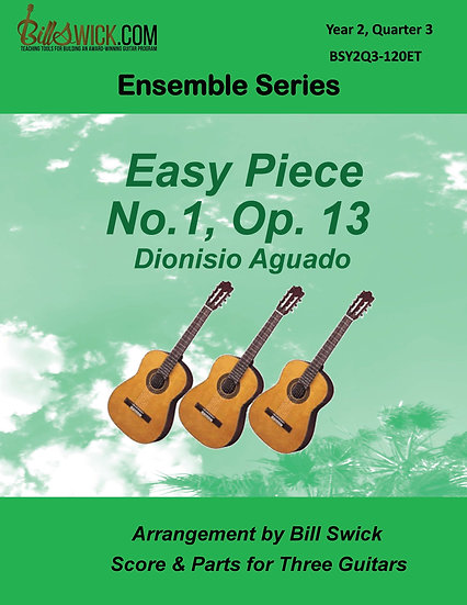 Intermediate-Easy Piece No. 1, Op. 13-Dionisio Aguado