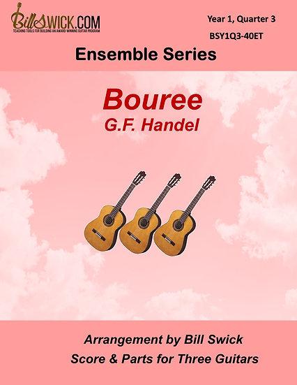 Easy-Bouree-G.F. Handel