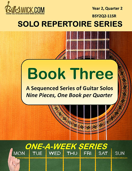 Solo Playing-Book Three