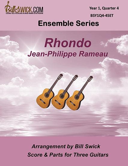 Easy-Rhondo-Jean-Philippe Rameau