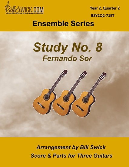 Intermediate-Study No. 8 by Fernando Sor