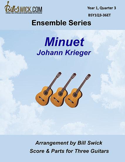 Easy-Minuet-Johann Krieger