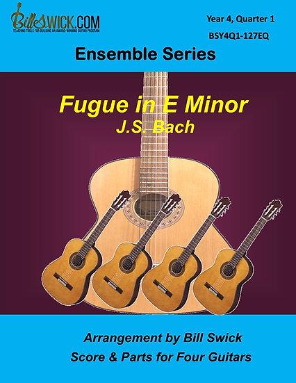 Advanced-Fugue in E Minor-J.S. Bach