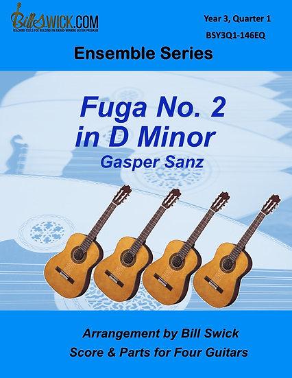 Advanced-Fuga No. 2 in D Minor by Gasper Sanz