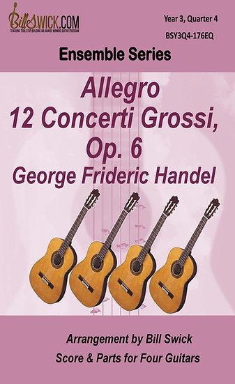 Allegro from 12 Concerti Grossi, Op. 6-Handel