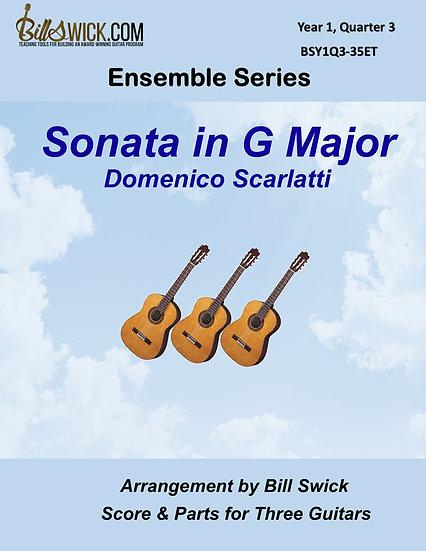 Easy-Sonata in G Major-Domenico Scarlatti