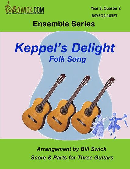 Advanced-Keppel's Delight:  An English Jig
