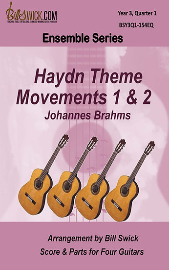 Haydn Theme Movements 1 & 2-Johannes Brahms