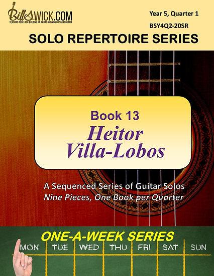 Solo Playing-Book Thirteen-Heitor Villa-Lobos