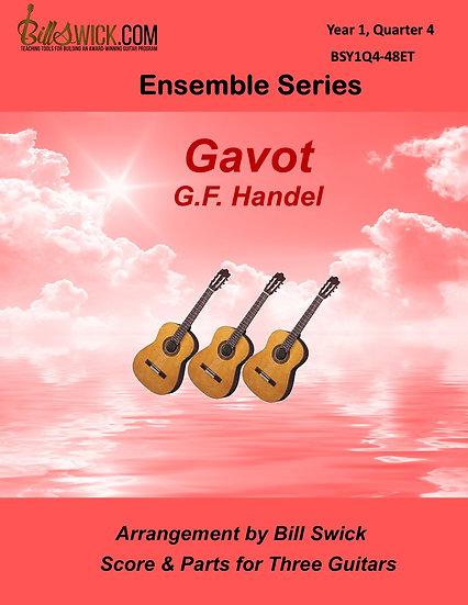 Easy-Gavot-G.F. Handel