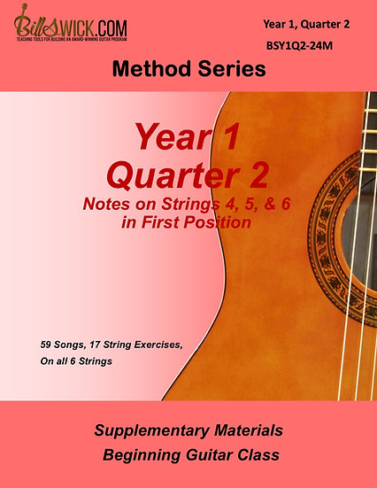 Method-Year 1 Quarter 2