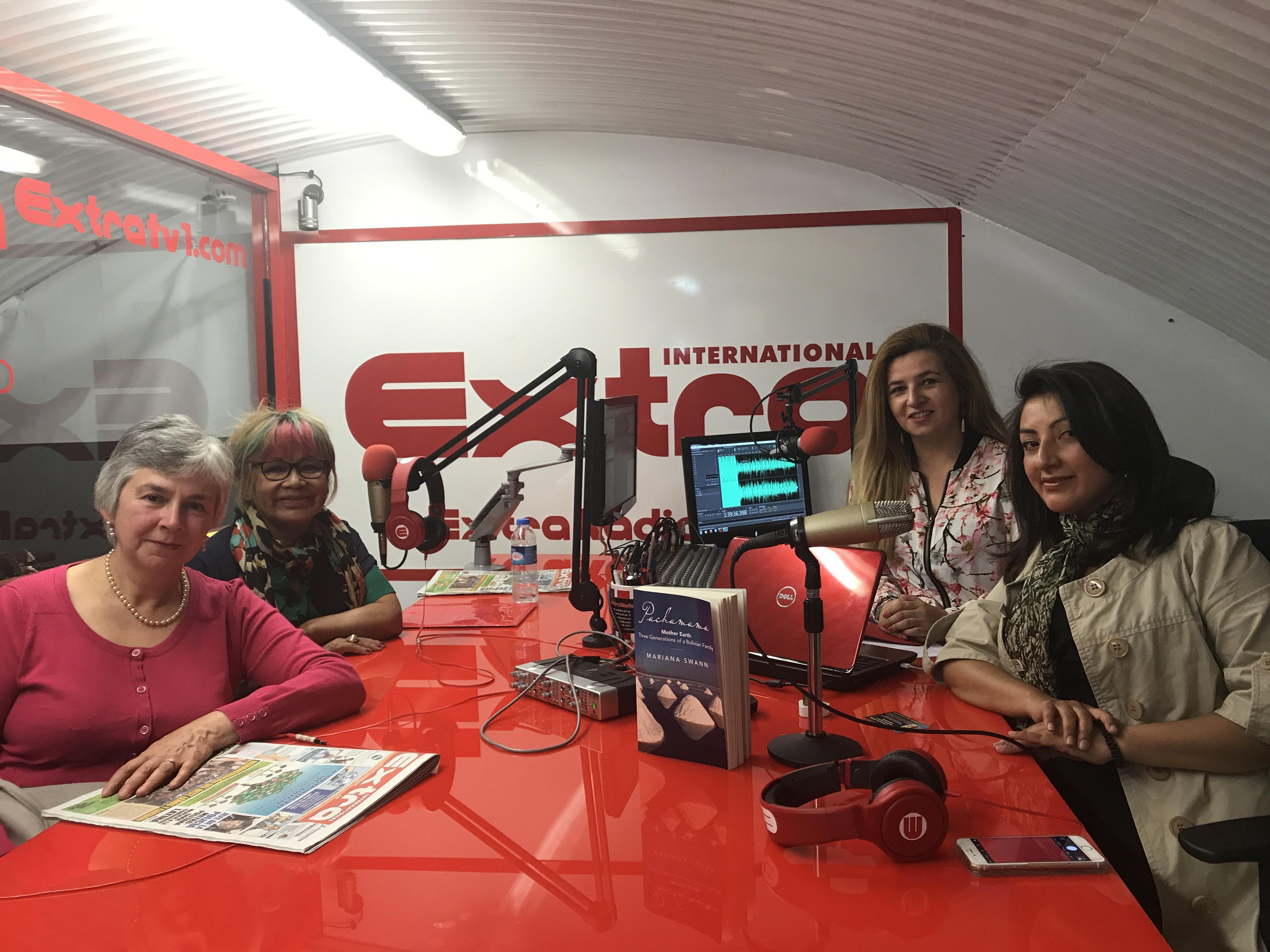 Mariana Swann autora de Pachamama, Donna Maria y Rosa Ravelo