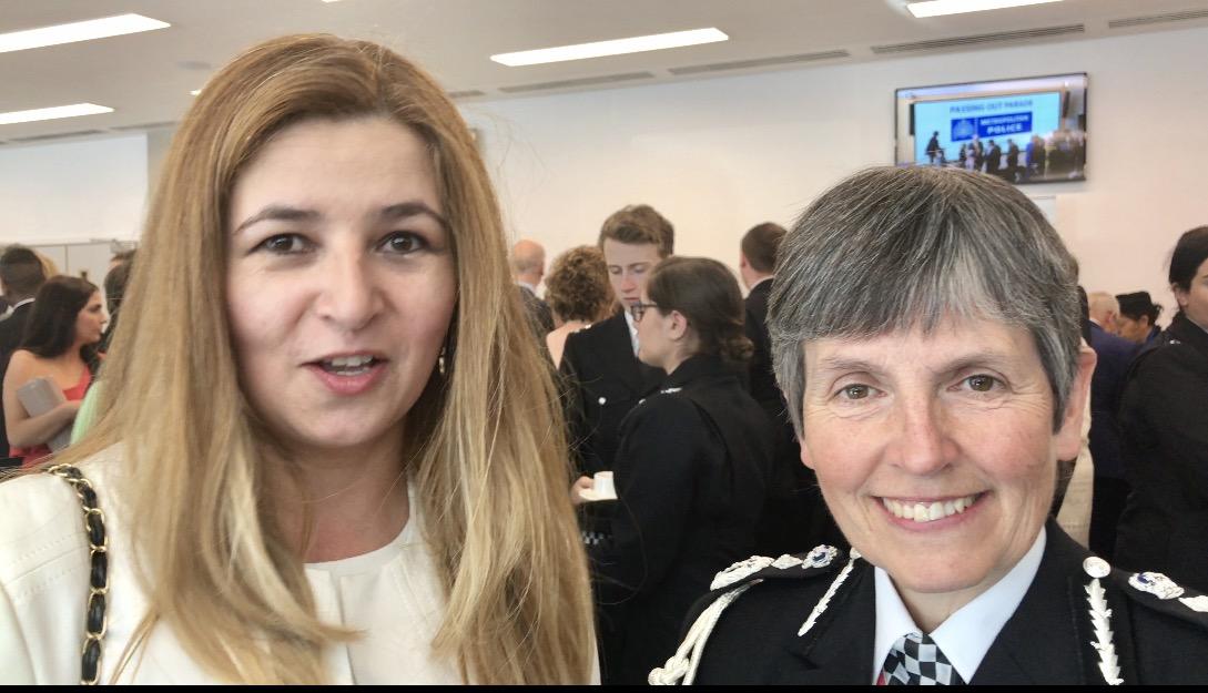 Jefa de la Policia Metropolitana Cressida Dick