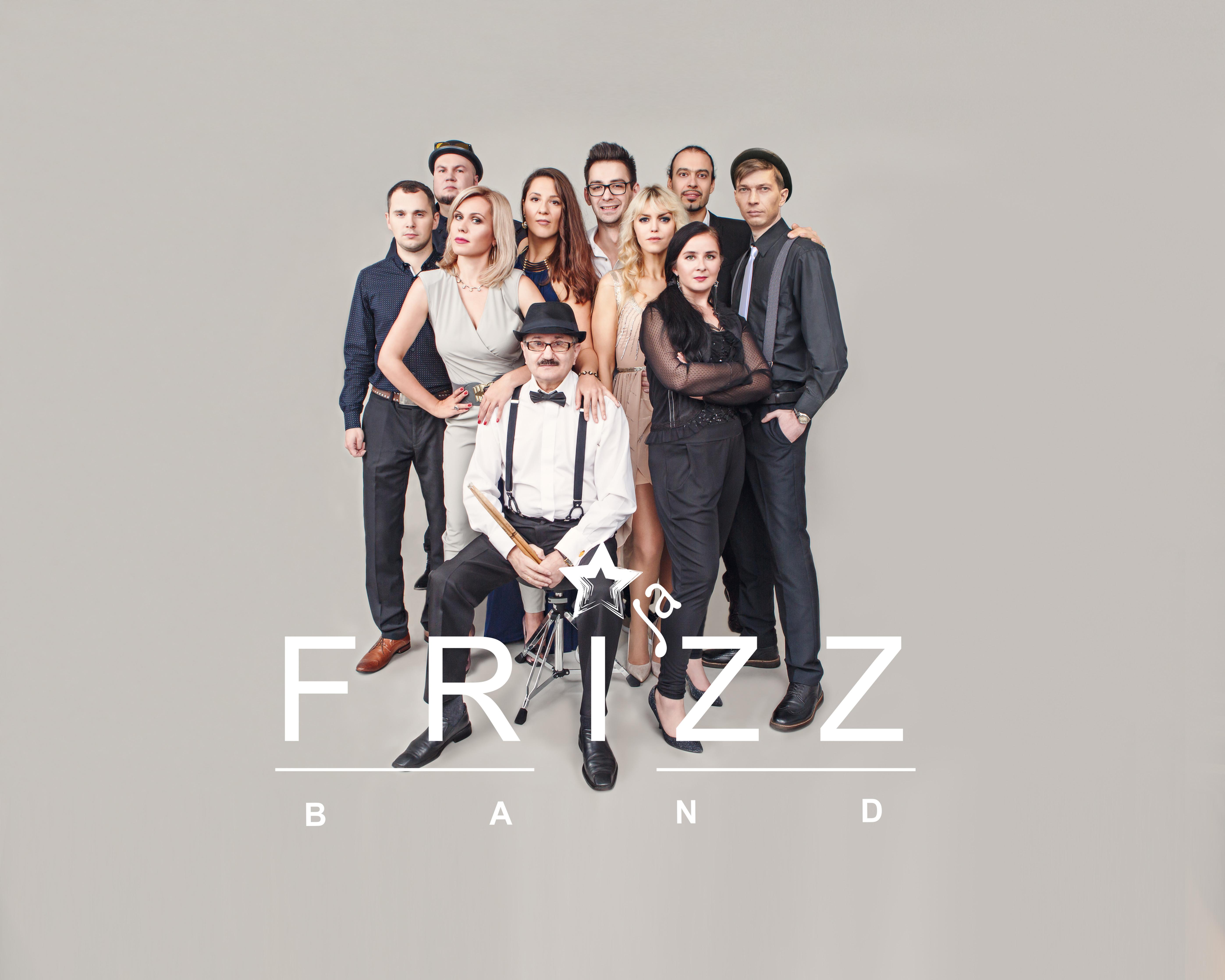 FRI'ZZ полный состав, 7 музыкантов
